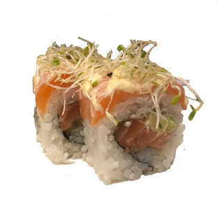 Foto Flamed Salmon roll (8st./pcs.)